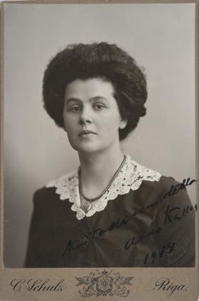 Aino Kallas. Kuva: Museovirasto