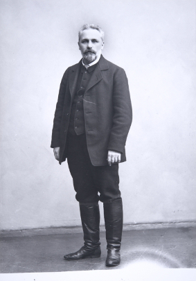 Arvid Järnefelt. Kuva: Museovirasto.