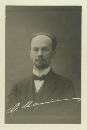 Otto Manninen. Kuva: SKS arkisto