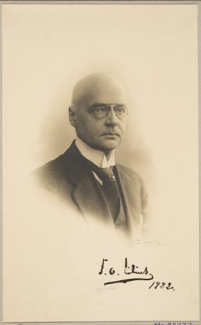 Frans Oskar Lilius. Kuva: Museovirasto.