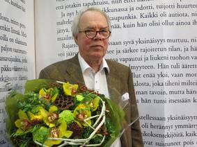 Vuonna 2015 tunnustuspalkinto myönnettiin kirjailija Markku Innolle.