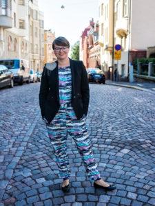 Lottaliina Pokkinen. Kuva: Tomi Kontio