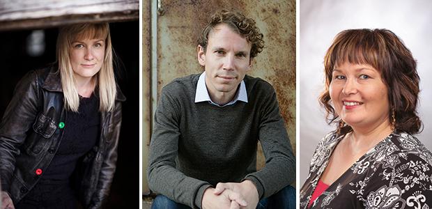 Kati Hiekkapelto, Juha Itkonen ja Katri Rauanjoki