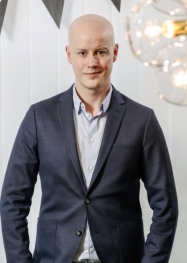 Niclas Sandin. Kuva: Peter Jönsson