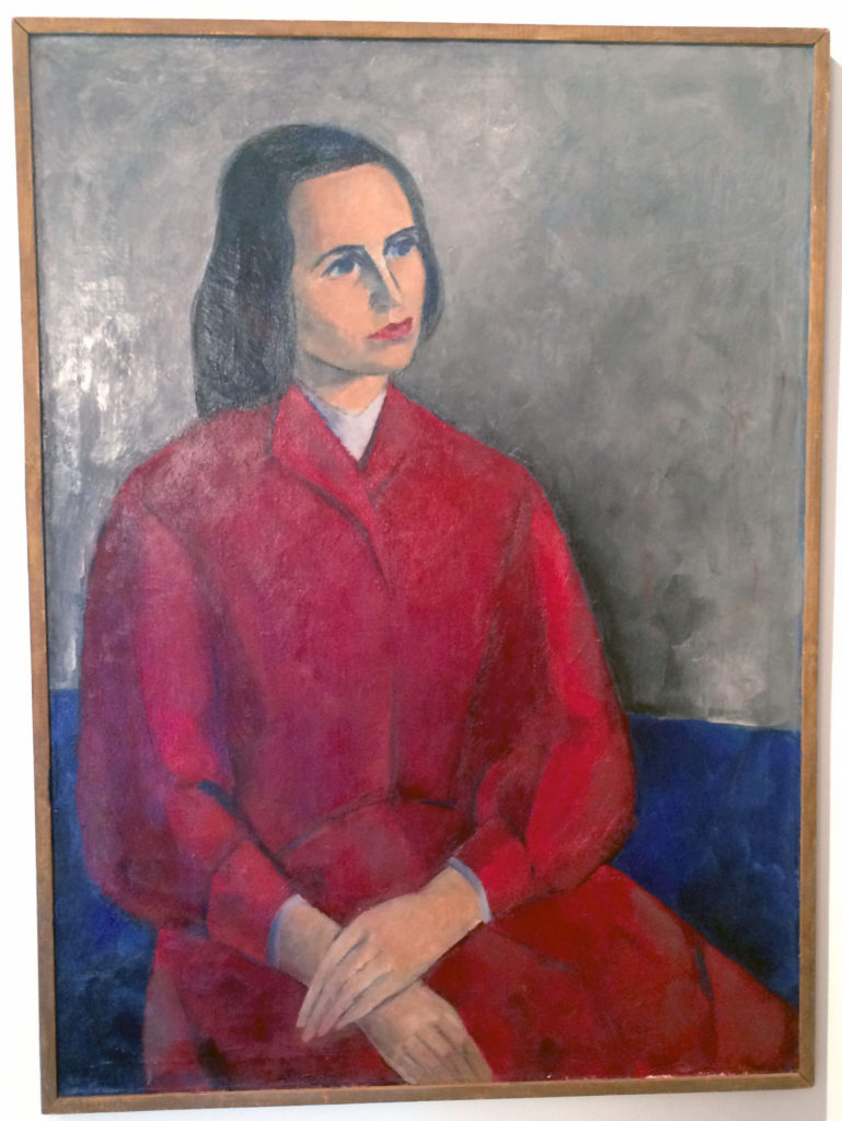 Eva Cederström: Sirkka Seljan muotokuva, 1957