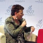Paula Havaste haastattelemassa aiheesta Tarinoiden Lappi.