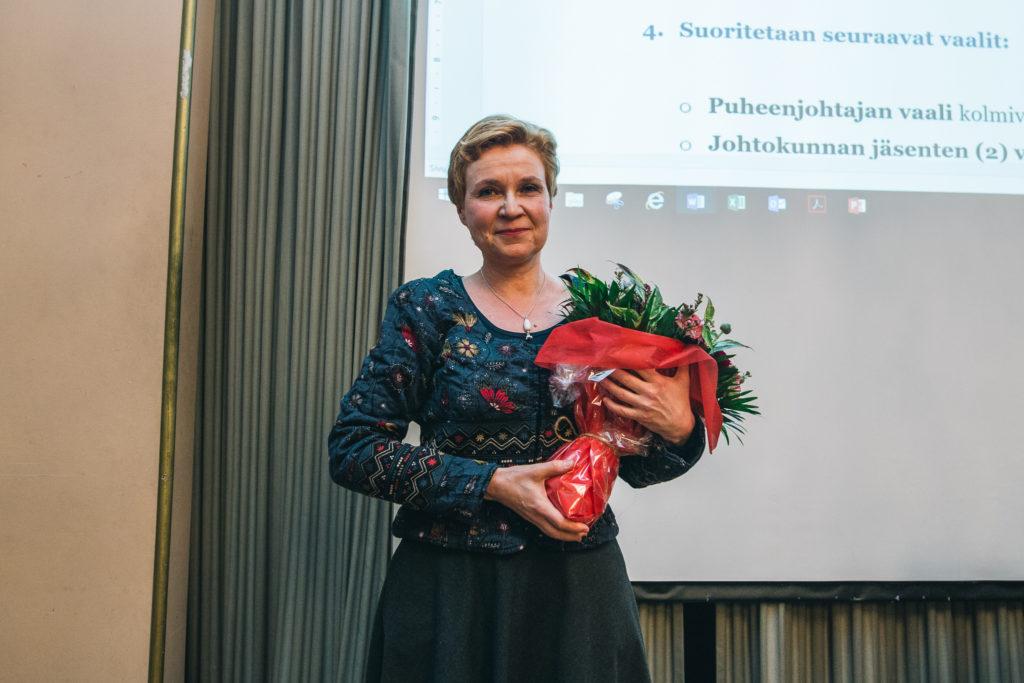 Sirpa Kähkönen. Kuva: Marissa Tammisalo