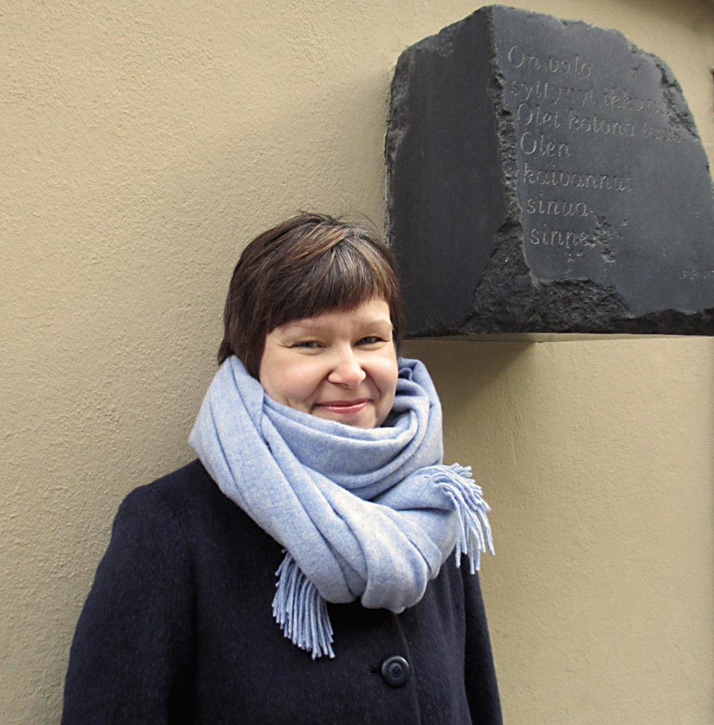 Elina Mäntylammi. Kuva: J. S. Meresmaa